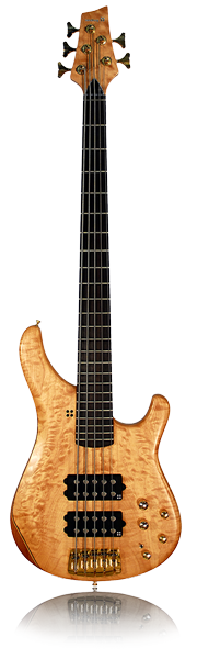 image of sandberg bass Basic bass in brown
