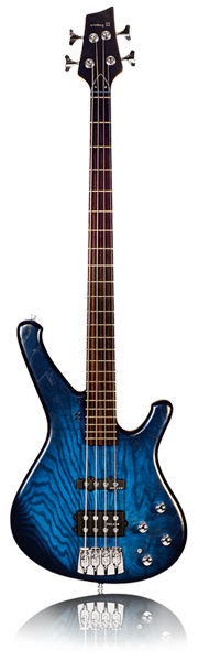 image of sandbrg bass Classic bass in blueburst
