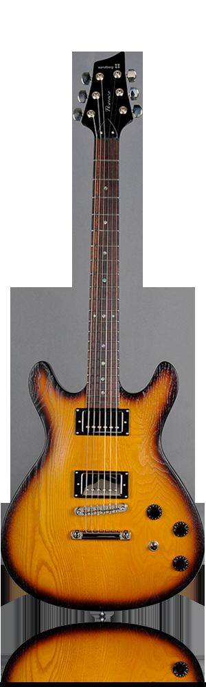 image of sandberg guitar Florence Guitar blackburst